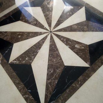 Кристализирани естествени каменни подове